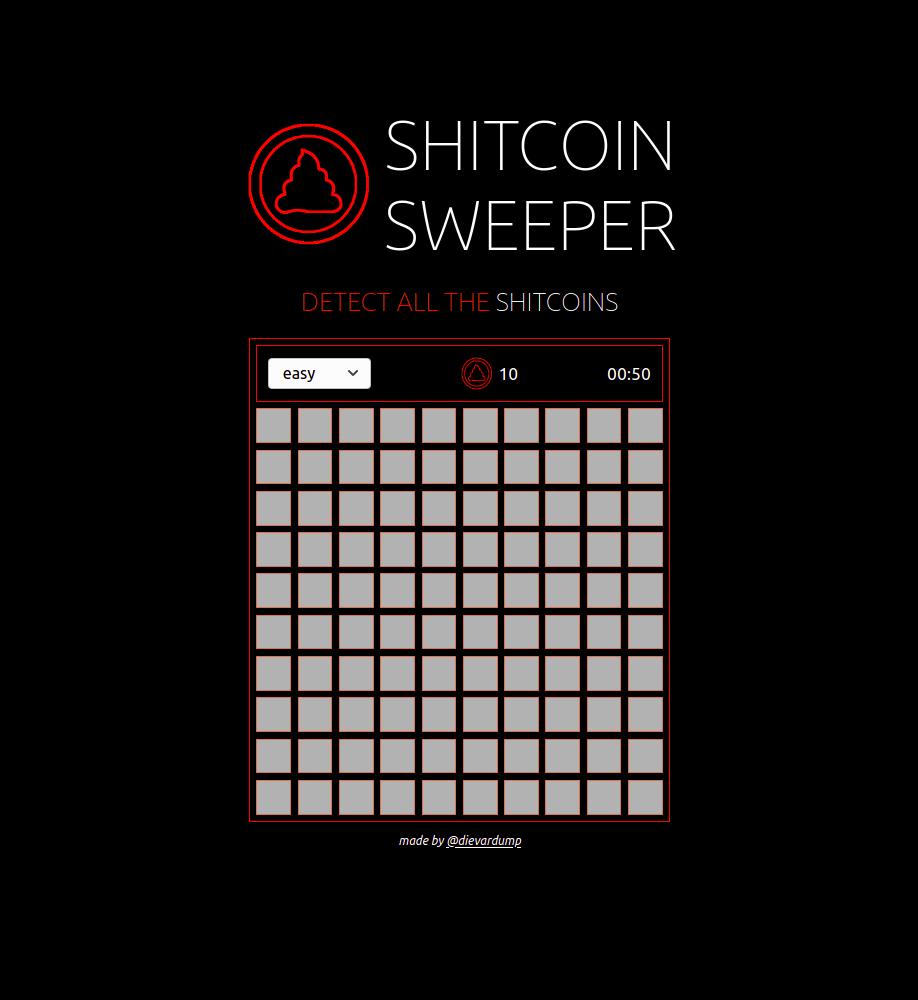 Shitcoin Sweeper